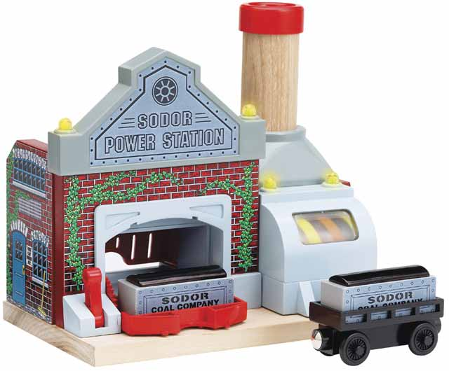"Sodor Power Station ""Sights & Sounds"" - Thomas & Friends Wooden Railway"