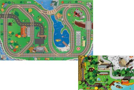Thomas All Around Two-Sided Playboard